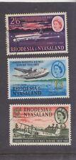 RHODESIA & NYASALAND-1962-30 YEARS LONDON/RHODESIA AIR MAIL SET-SG 40-42-F/U-$10