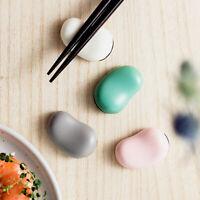 Ceramic Bean Chopstick Rest Holder Fork Pen Rack Dining Home Decor Tool Supplies