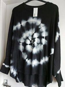 Made In Italy Moda BNWT Batwing Jumper Top Designer One Size 10 - 14 Casual