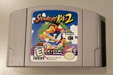 Snowboard Kids 2 Nintendo 64, 1999  Authentic Cleaned- Tested WORKING FREE SHIP