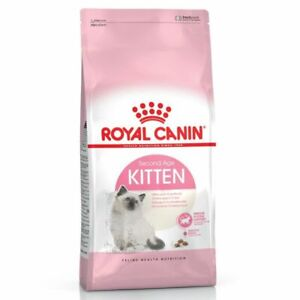 Royal Canin Dry Cat Food Kitten Feline Balanced Complete Second Age