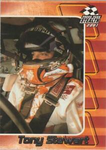 2001 Press Pass Stealth #24 Tony Stewart card, NASCAR HOF