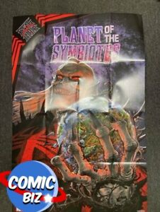 KING IN BLACK PLANET OF THE SYMBIOTE ART FOLDED POSTER (2021) 1 PER STORE MARVEL