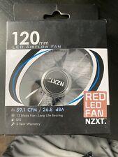 NZXT RED LED Fan 120mm (59.1 CFM/26.8 dBA)