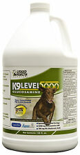 Liquid Health Dogs K9 Level 5000 - Glucosamine - Chondroitin Opti-MSM 128oz New