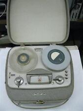 Vintage Grundig TK20 Reel To Reel Tape Player / Recorder & Original Microphone