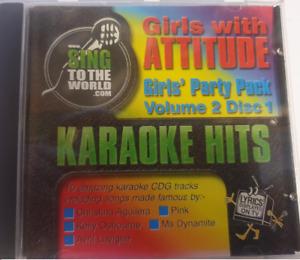 Girls' Party Pack Karaoke CDG - Girls With Attitude Karaoke Hits
