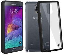 Amzer Sleek SlimGrip Hybrid TPU Bumper Case For Galaxy Note 4 SM-N910 - Black