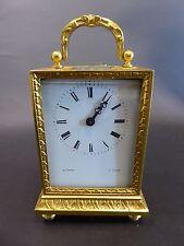 Orologio da viaggio W. Penn e (A). Parigi dorato inseguito Francia Top