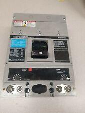 SIEMENS--JXD22B400--2 POLE 240VAC 250VDC 400 AMP CIRCUIT BREAKER--Sentron Series