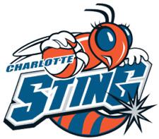 Charlotte Sting WNBA Basketball Embroidered Ladies Polo XS-6XL New