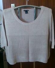 beigefarbener Feinstrick Pullover Gr. 40/42/44 von H&M