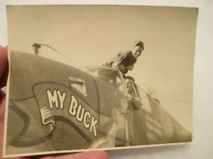 "*PHOTO* B-25 Mitchell (44-29509) ""My Buck"" - 17th TRS SWP - Original Print"