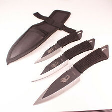 Set 3 pcs Pocket Knife Tactical Fixed blade Survival Outdoor Hunting Camping