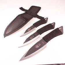 Set 3 pcs Pocket Knife Tactical Fixed blade Survival Outdoor Hunting Camping