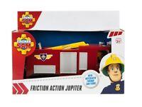 Fireman Sam Fricción Jupiter Coche de Bomberos & Articulado Figura Grande