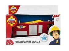 Fireman Sam friction Jupiter Fire Engine & articulated Fireman Sam figure large