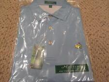 Peter Millar Augusta National Masters Golf Polo Blue NWT L