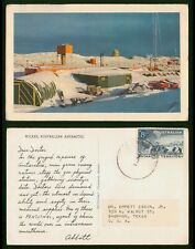 Mayfairstamps Australia 1950s Antarctic Territory Wilkes Dear Doctor First Day C