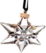 Swarovski 2000 Christmas Star / Snowflake, Mint, ornament only