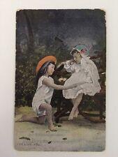 "Vintage Postcard - Star Series G D & D - ""I Love You"" - posted 1913"