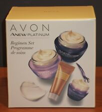 Avon Anew Platinum Regimen Set Full Size Day Night Eye Cream Power Serum $55 NIB