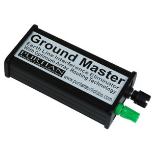 Puritan Audio Labs Ground Master Earth Line Interference Eliminator (New)