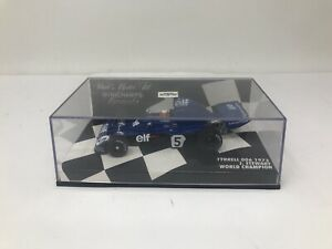 1:43 Minichamps Tyrrell 006 1973 J.Stewart World champion 430730005