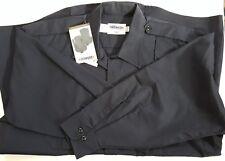 Elbeco Response Tek2 Shirt Unisex Size 17.5/33 Long Sleeve Button Up Navy Blue 3
