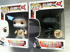 Funko pop gi joe snake eye storm shadow 2 pcs bait exclusive new in box
