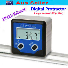 Mini Digital 360°(±180°)Angle Meter Inclinometer Protractor Bevel Box w/magnet
