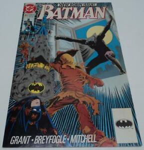 BATMAN #457 RARE 2ND PRINT (DC Comics 1990) Tim Drake becomes ROBIN (FN+)