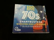 100 Hits 70s Chartbusters 5 CD Set