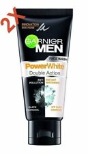 GARNIER MEN POWER WHITE DOUBLE ACTION 2IN1 FACE WASH 100 GM(2pc pack) 'F/SHIP'