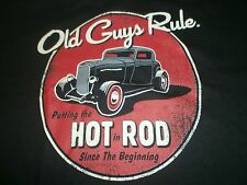 "Old Guys Rule "" Putting The Hot In Rod "" Since The Beginning"" S/S T-Shirt 3X"