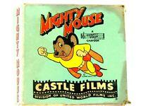 Vtg 16mm Film Cartoon MIGHTY MOUSE Jekyll & Hyde Cat 1940's HEADLINE EDITION 773