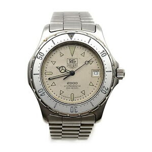 Tag Heuer Watch  2000 serise operates normally swanky 2201002