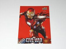 Marvel Captain America Civil War UPPER DECK Wal-Mart Card | Iron Man CW14