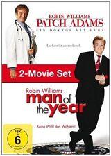 # DVD MAN OF THE YEAR & PATCH ADAMS - ROBIN WILLIAMS - 2 Filme *** NEU ***