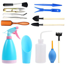 Vichoo 14 Pcs Mini Garden Tools Set Hand Transplanting Succulent Tools Small for
