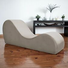 Liberator Kama Sutra Chaise & Tantra Lounger - Champagne Micro-velvet