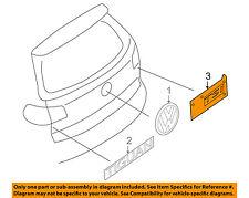 VW VOLKSWAGEN OEM 07-11 Eos Trunk Lid-Emblem Badge Nameplate 1Q0853675B739