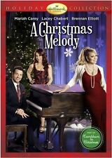 A CHRISTMAS MELODY Hallmark Mariah Carey USED VERY GOOD DVD