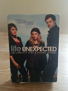 Life Unexpected: The Complete First & Second Seasons DVD 6-Disc Tested Rare Oop
