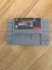 Bram Stoker's Dracula Super Nintendo Snes Game Cart Works SN1