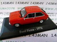 RBA5M voiture 1/43 RBA Italie IXO : FORD Fiesta MkI 1976 rouge