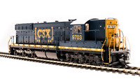 BROADWAY LIMITED 5782 HO SD7 CSX 9700 Boxcar scheme Paragon3 Sound/DC/DCC