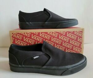 Vans Asher Slip On Women's Canvas Shoes Slip on Sneakers Casual Black