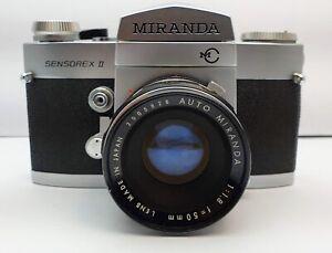 MIRANDA SENSOREX II Auto Miranda 1:1,8 f=50mm