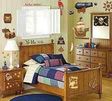 Room-FX Wandsticker Wandtattoo Sticker Wandbilder Pirat Piratenschatz Piraten